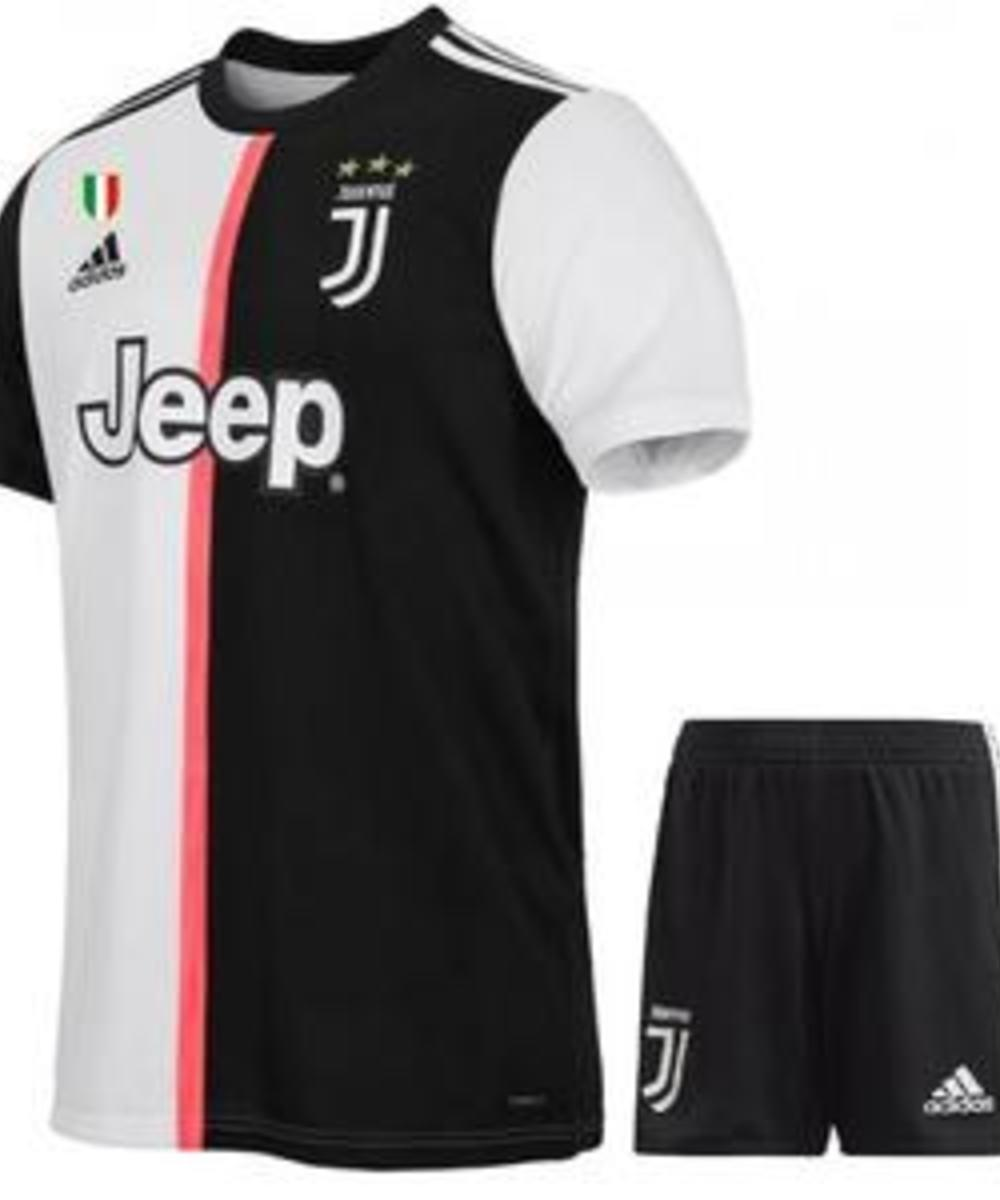 Juventus first team shirt with number and name kids