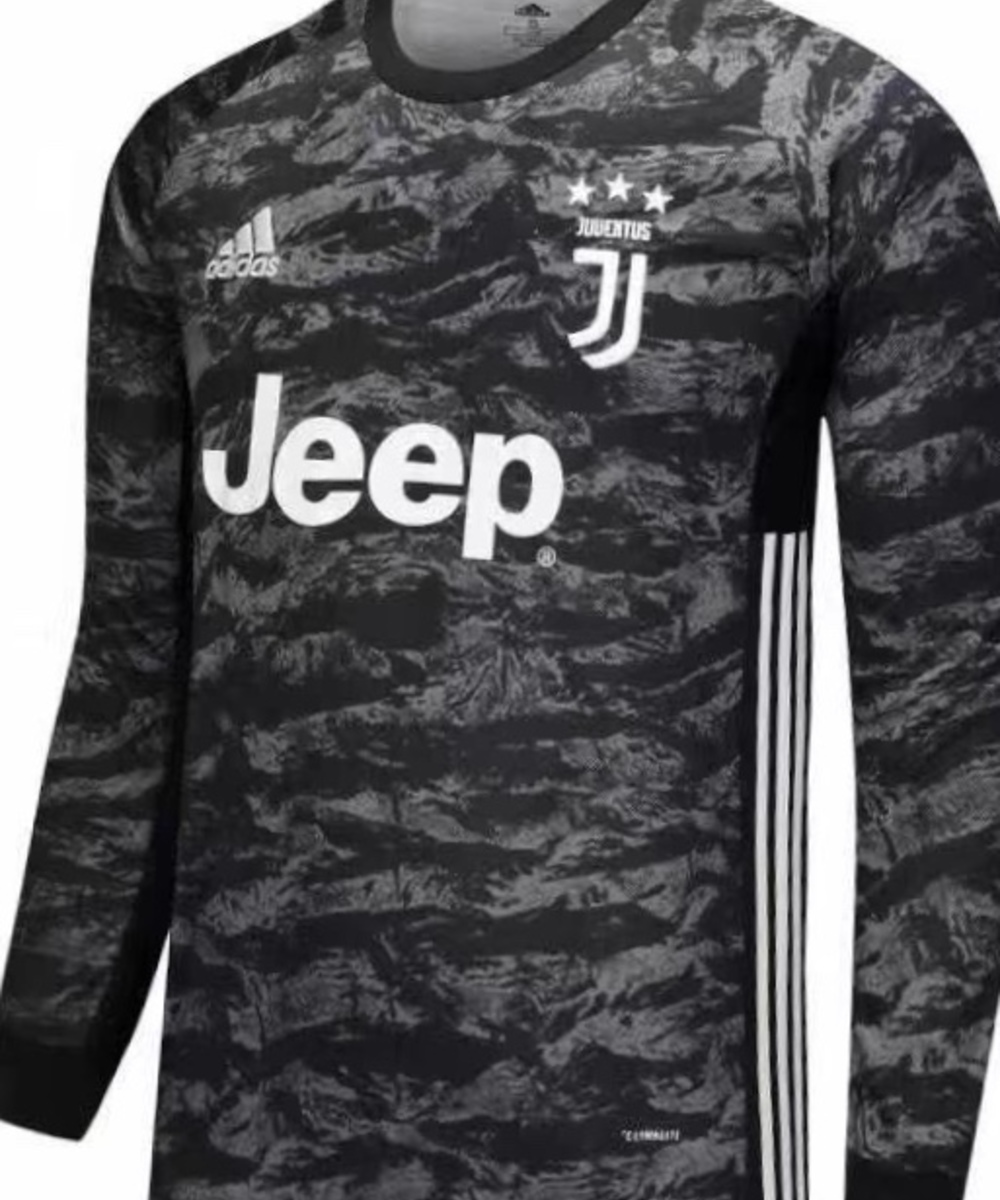 Juventus shirt first team goalkeeper Long sleeves with name and number