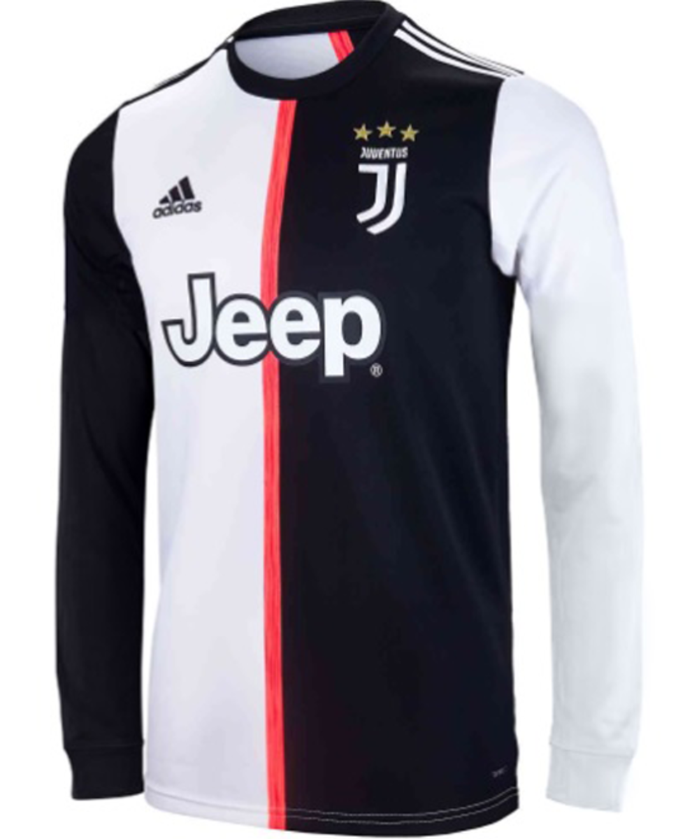 Juventus first team shirt without number and name Long sleeves