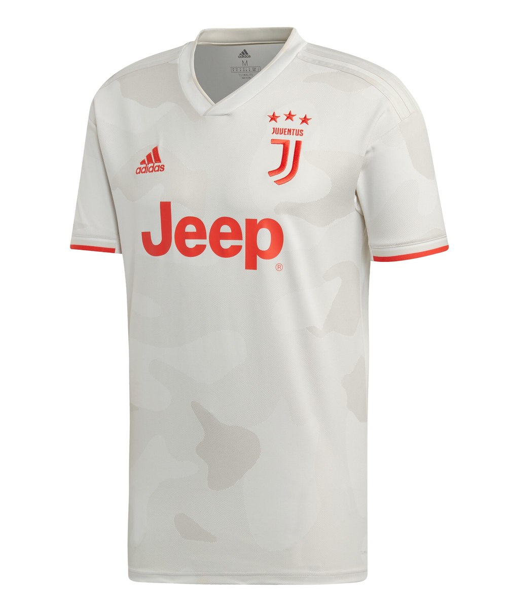 Juventus away team shirt without number and name Long sleeves