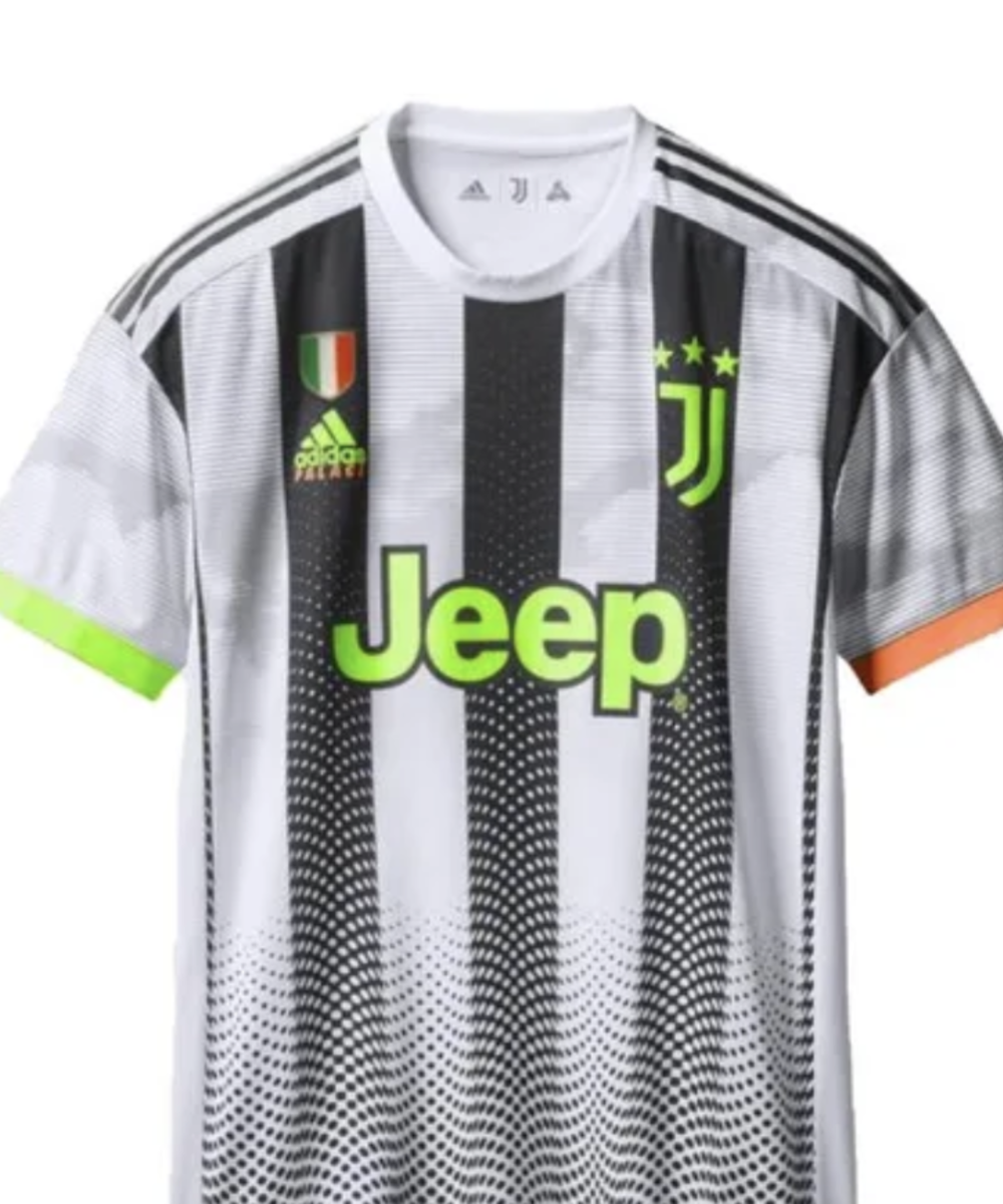 Juventus shirt with number and name
