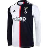 Juventus first team shirt Long sleeves  with number and name kids