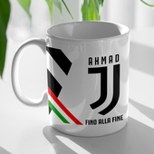Custom a Juventus Cup with your name