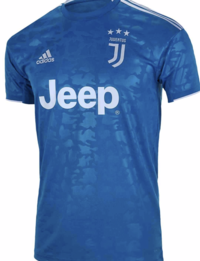 Juventus third shirt with name and number